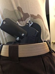 Kydex Concealed Carry Holster: Alien Gear Cloak Tuck 3.0 IWB Holster Review- Alien Gear holster and wilderness gun belt