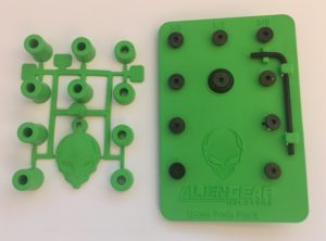 Included spare parts kit