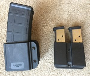 Blade-Tech kydex OWB magazine holsters