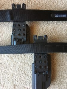 Blade Tech Signature Holster- Tek-Lok fits 1.5 and 1.75' Tactical Gun Belts