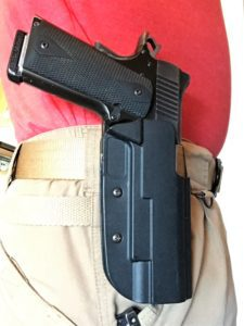 My Kimber Pro Carry II in a Blade-Tech OWB Kydex Holster