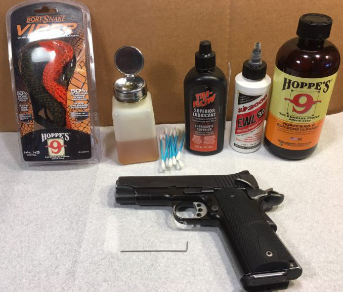 Cleaning a Kimber Pro Carry 1911
