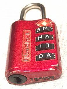 TSA Approved Combination Lock