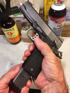Kimber Pro Carry II Disassembly-Unload the gun