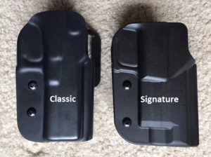 Blade Tech Signature Holster-Classic on Left Signature on Right