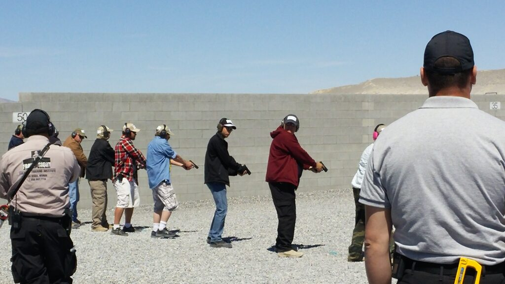 Firearms Training at Front Sight