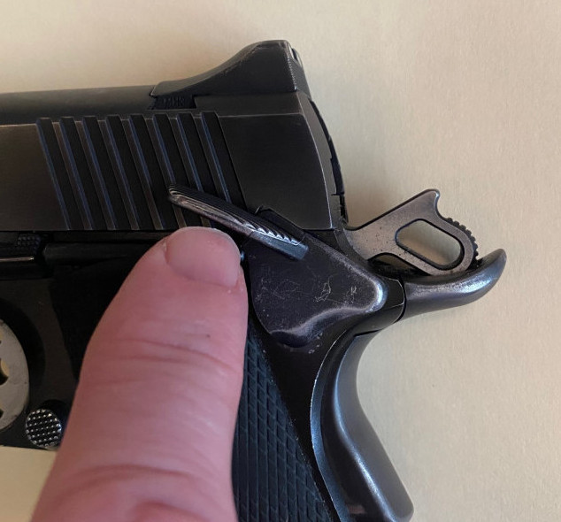 1911 thumb safety