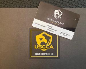 USCCA Platinum Membership Card