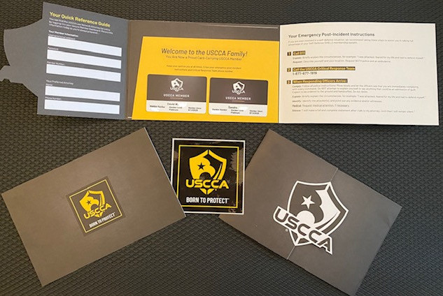 USCCA Membership Welcome Packet