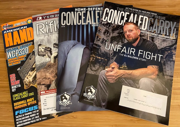 Concealed Carry Magazine included in USCCA Elite Membership