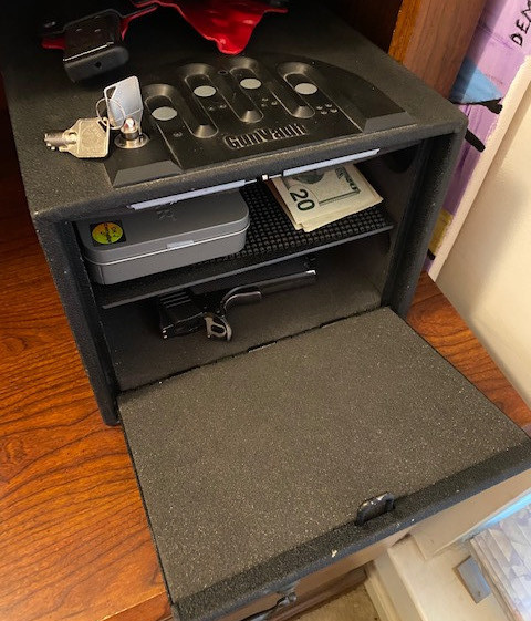 Gun Vault Multi-Level Small Handgun Safe