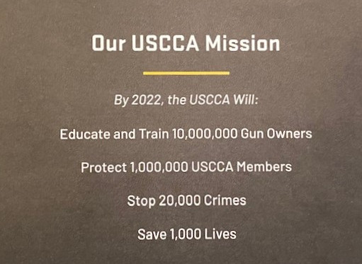 USCCA Membership Mission Statement
