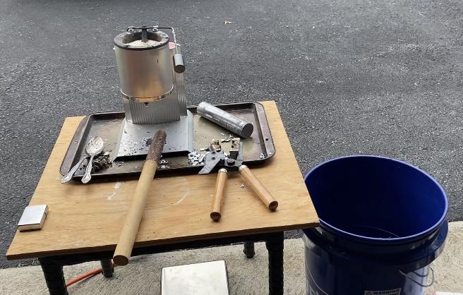 My Bullet Casting Bench