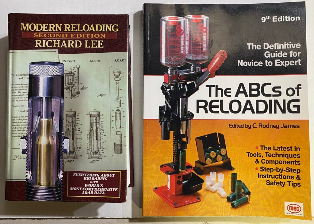 Recommended Reloading Books